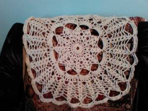 3 tapis au crochet